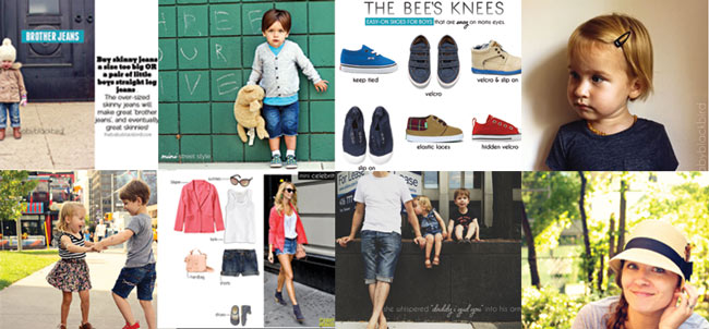 kids style blog, one of a kind blog features