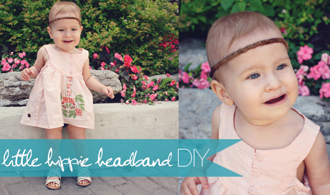 all things fashionable for kids, kids fashion, stylish kids, little girl headband diy, kids hippie headband diy, how to make a leather hippie headband for your kids, stylish toddler girl