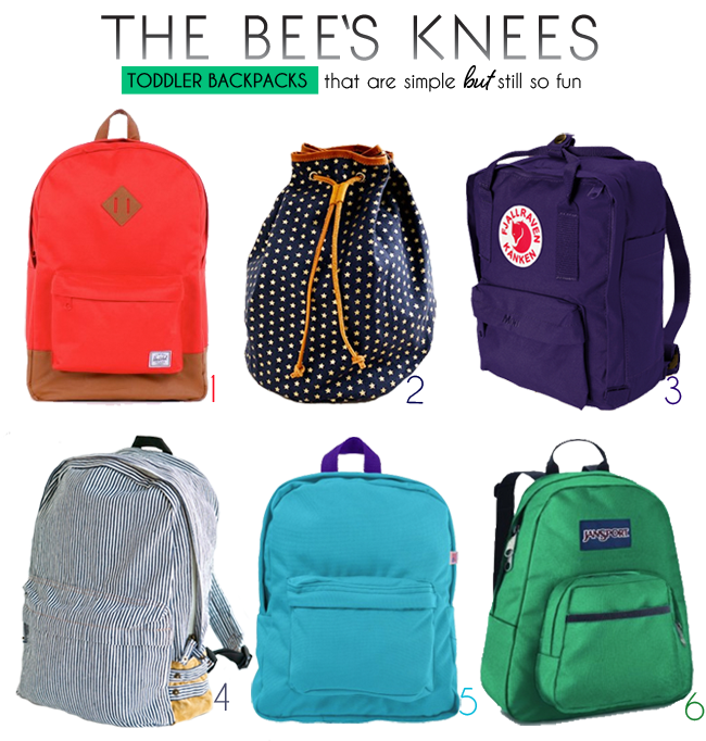 beeskness toddler napsacks2 The Bees Knees | Toddler Backpacks