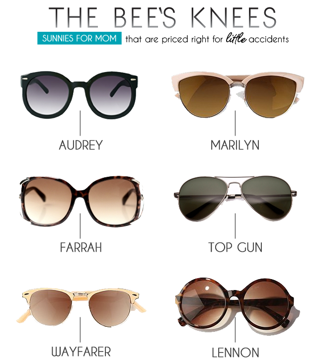 sunnies The Bees Knees | Sunglasses for Mom