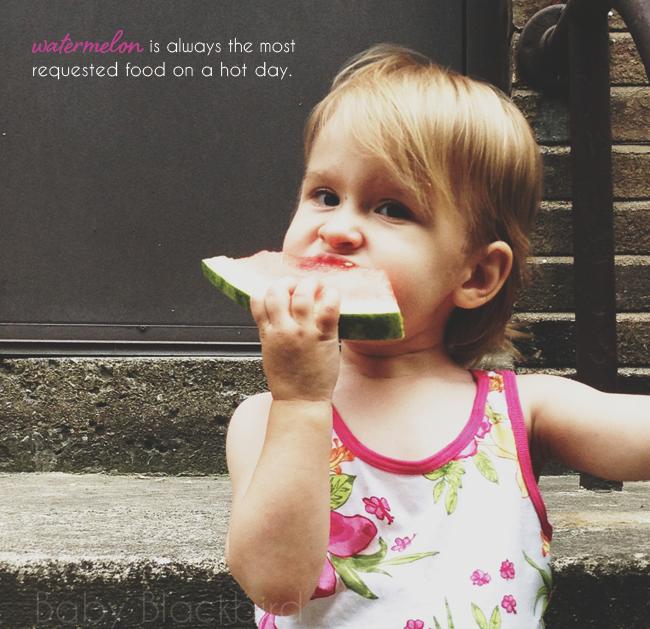 watermelon summer treat