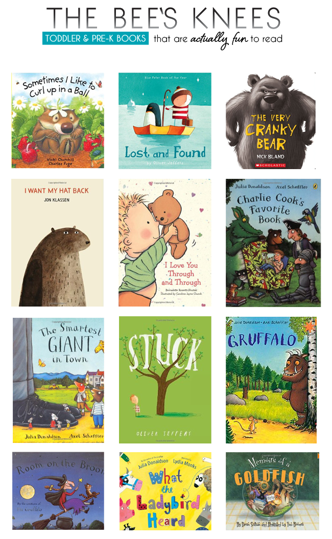 the best toddler Pre-K books