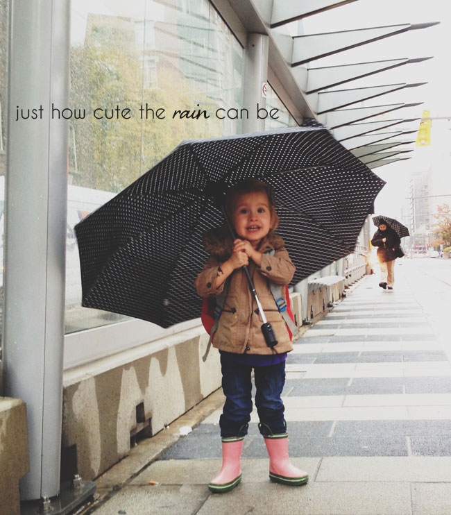 moments to rememeber, how cute the rain can be