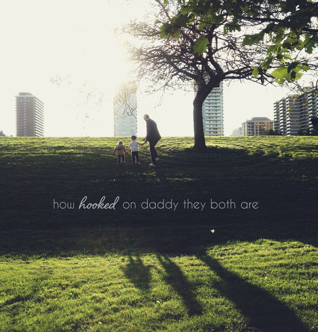 hooked on daddy, amazing father, dad kid moments