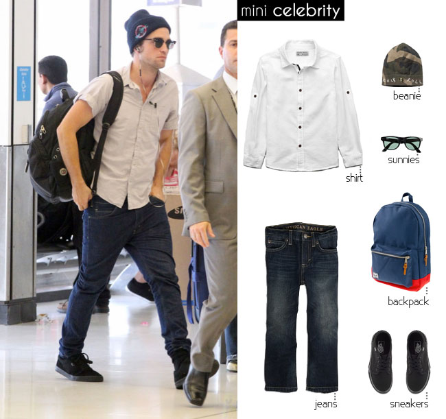 mini Robert Pattinson, kids style, kids fashion, boys style