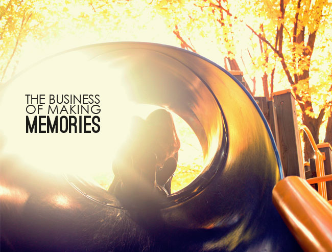 childs inner voice, business of making memories, simple things that matter