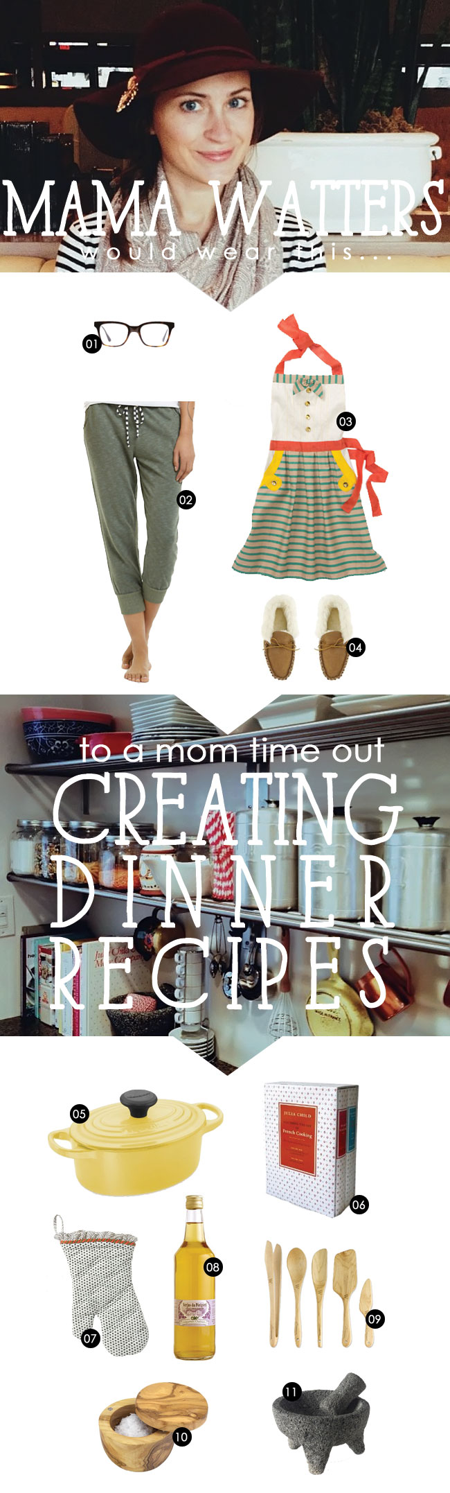 mama watters, its the little things, mom time out, mom break, adult time, mom style, cooking break