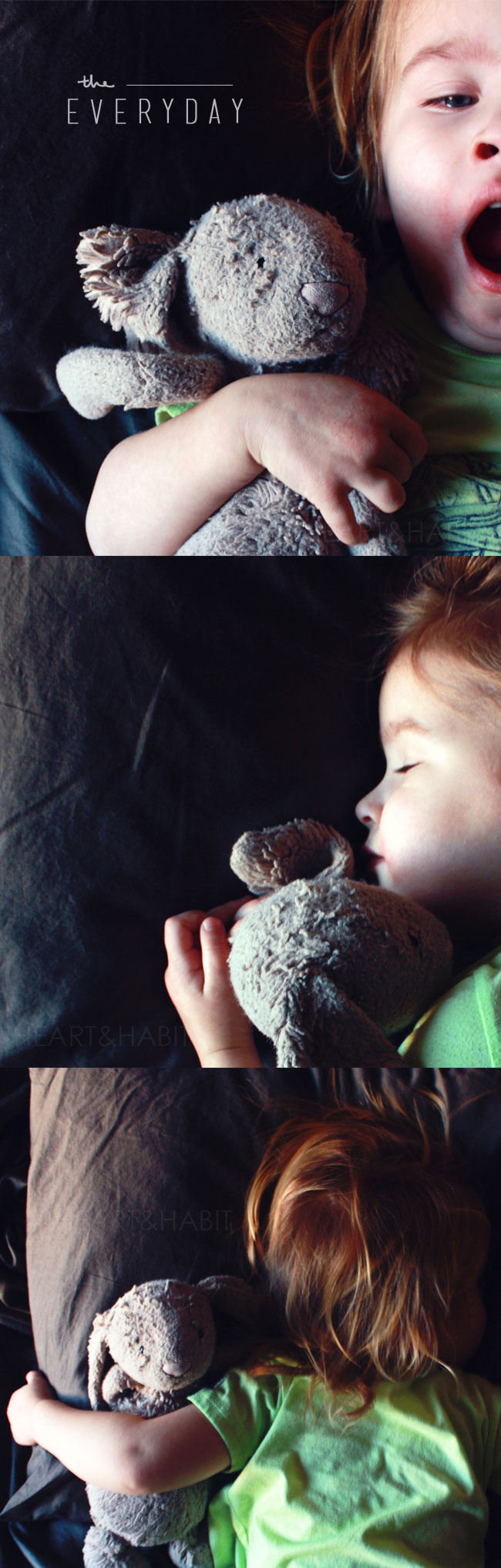 naptime, the everyday, the small moments, sleeping toddler, bunny love