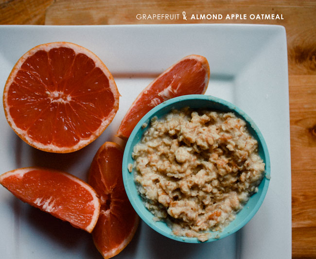 GRAPEFRUIT OATMEAL WHAT WE EAT