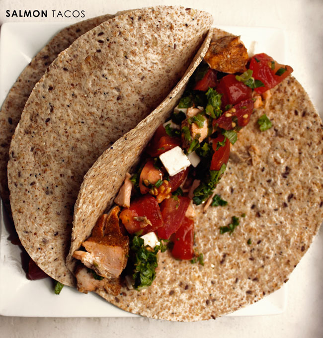 salmon tacos, fish tacos, what we eat