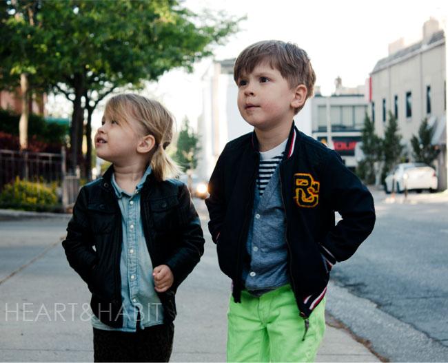 kids style, kids street style, toronto kids, eveining walks