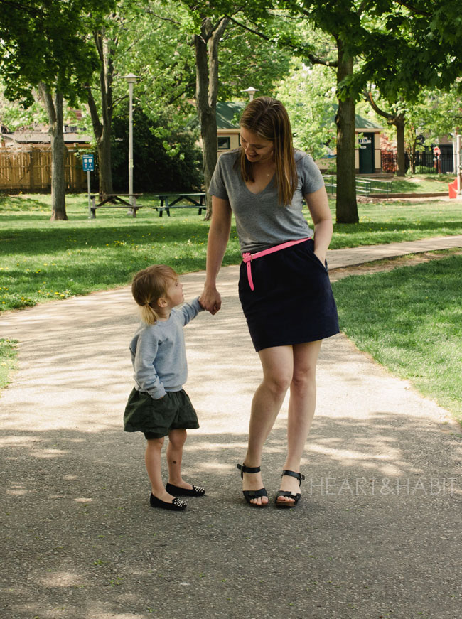 family style, summer weather, mom and daughter style, what we wore