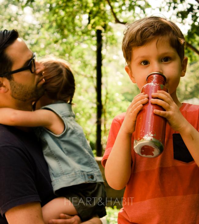 family life, toronto young family, stylish family, family park dates