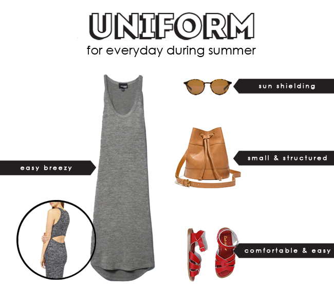 daily summer uniform, perfect everyday summer items