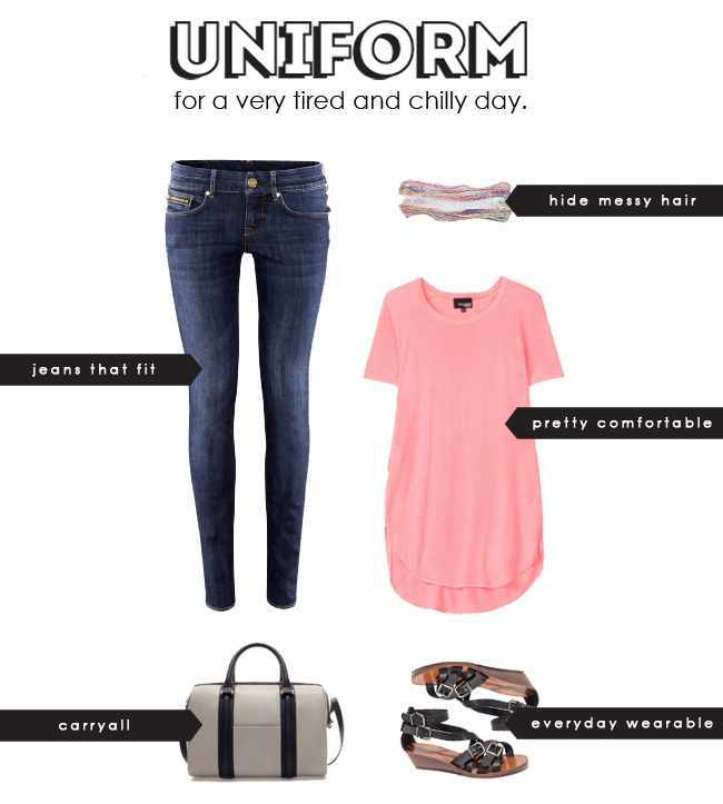 aritzia, zara, madewell, uniform for a tired mom, stylish mom, pre fall clothing, what to wear