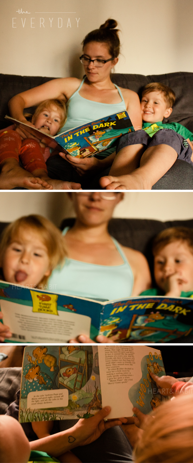 bed time stories, reading with kids, kids books, old kids books, enjoying little moments