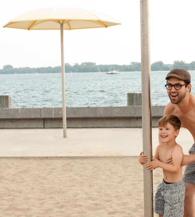 onia swim, onia boys swim, onia mens swim, matching father and son, beach day