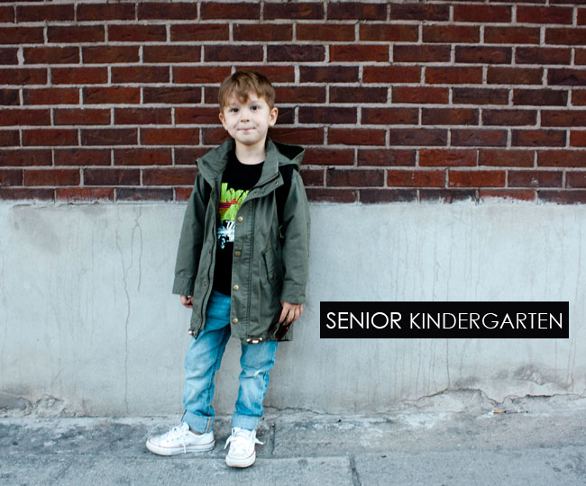 first day of SK, back to school, city kids, back to school