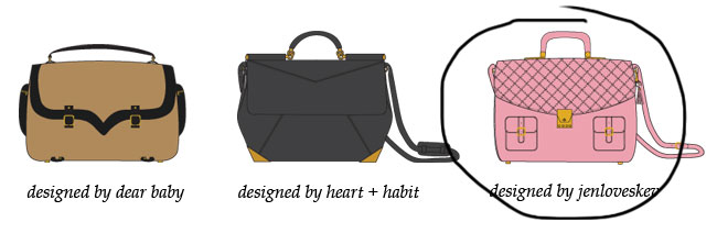dear baby, jen loves kev, theit bag collaboration, the lula camera bag, stylish camera bag, theit