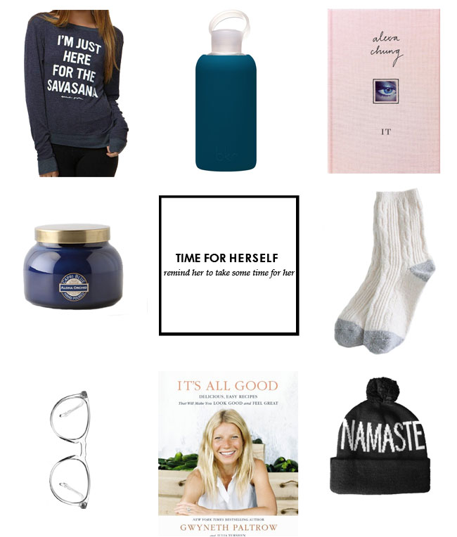 holiday gifts for mom, gifts for her, holiday gift guide to pamper mom, home made gift guide mom