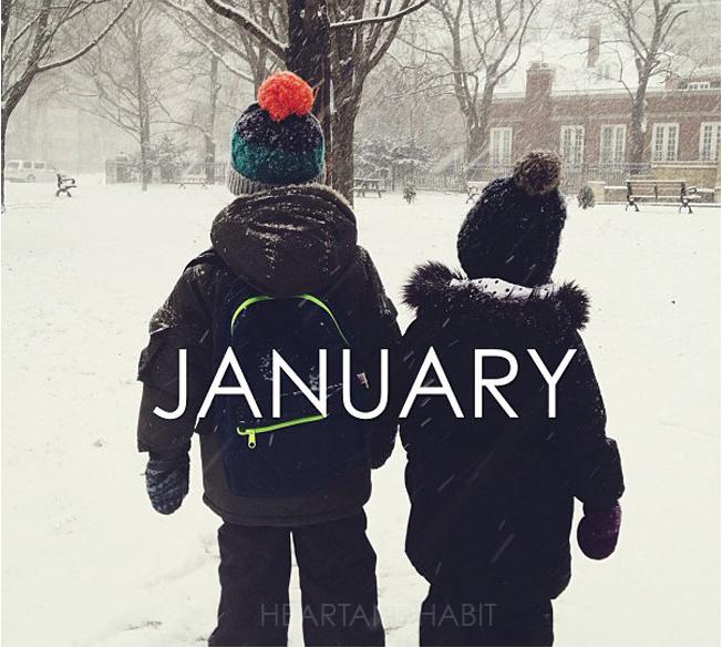 #handhcalendar, same spot calendar