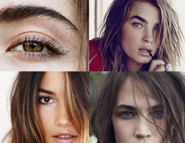 bombshell natural eyebrows