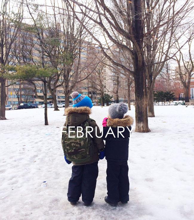FEBRUARY #samespotcalendar