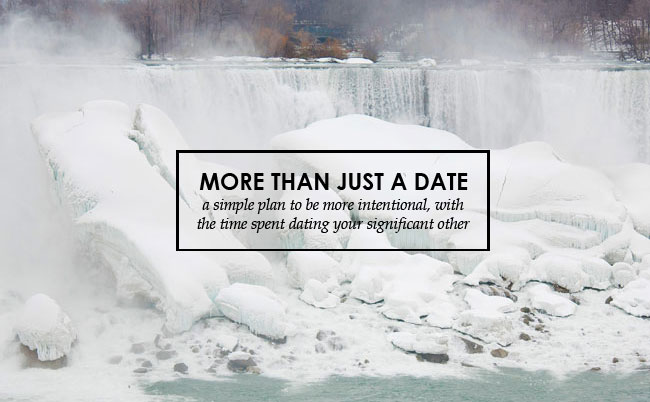 more than just a date