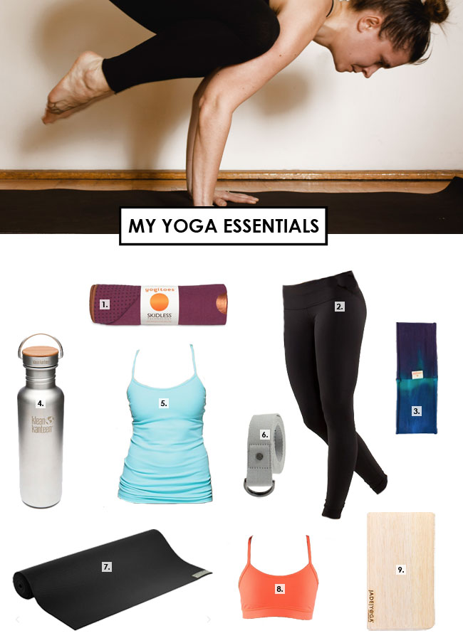 MY #YOGA ESSENTIALS