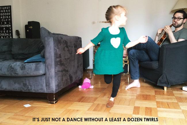 twirl dancing