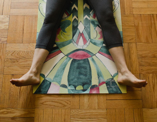 #yoga at home: how to make it a priority