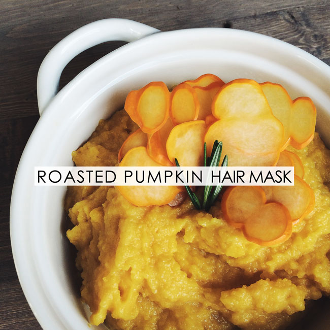 Handmade Roasted Pumpkin Hair Mask
