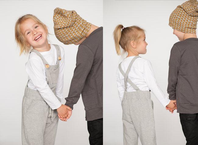 mini mioche x heart & habit | comfy overalls