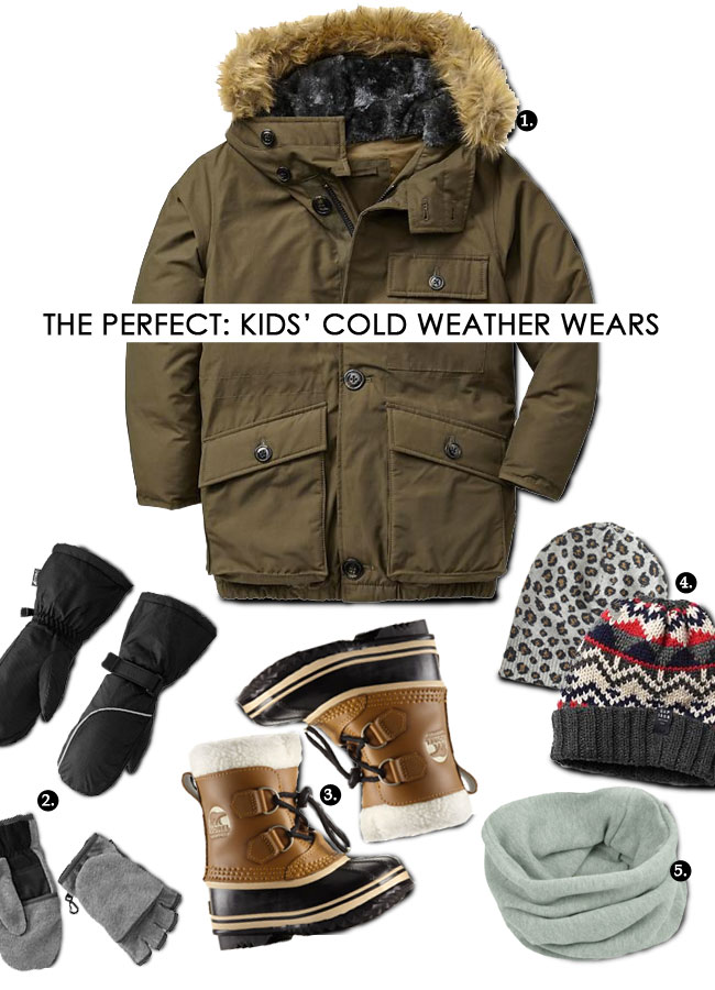 The Perfect Kids' Cold Weather Wears (with lot's of shopping tips)