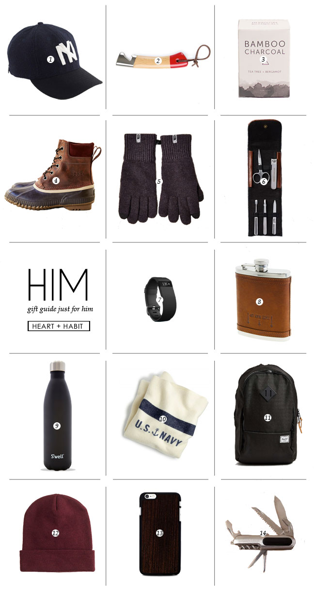 HIM | 2014 gift guide