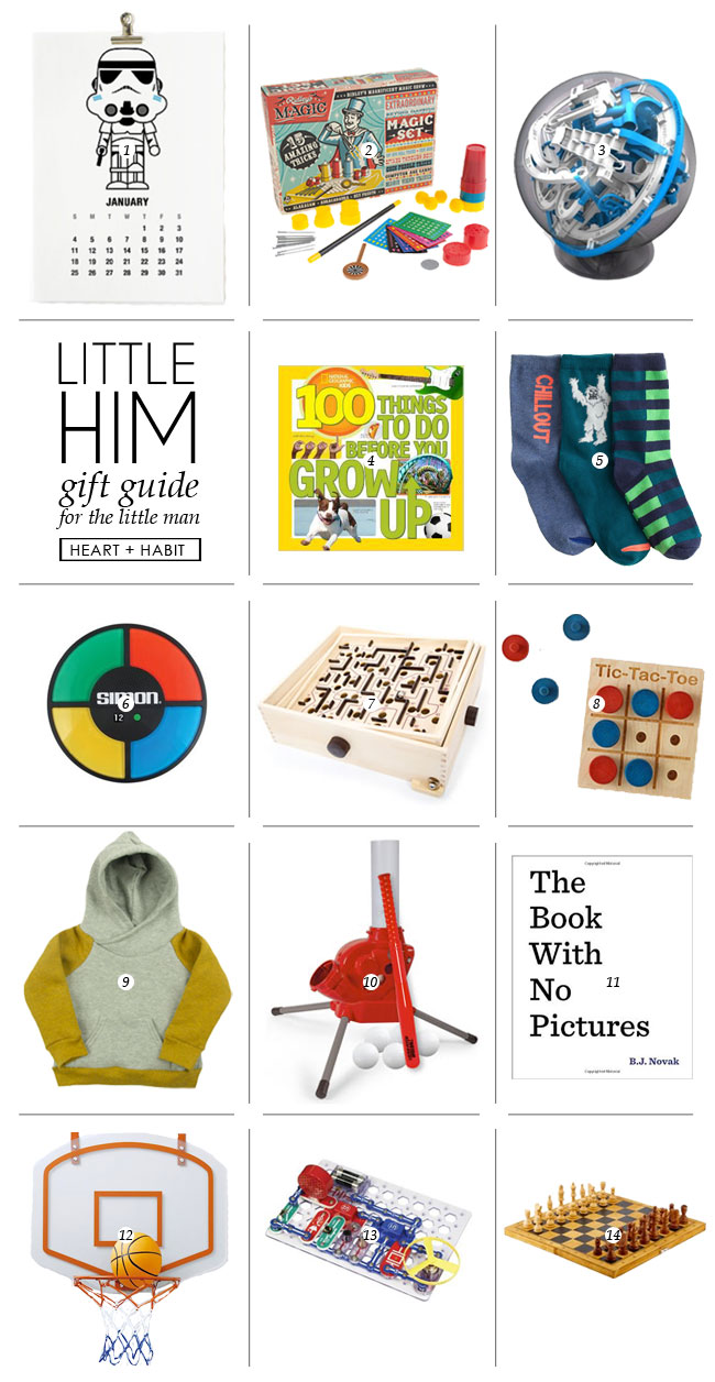 LITTLE HIM | holiday 2014 gift guide