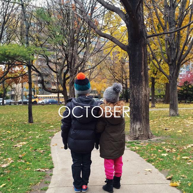 #samespotcalendar / october