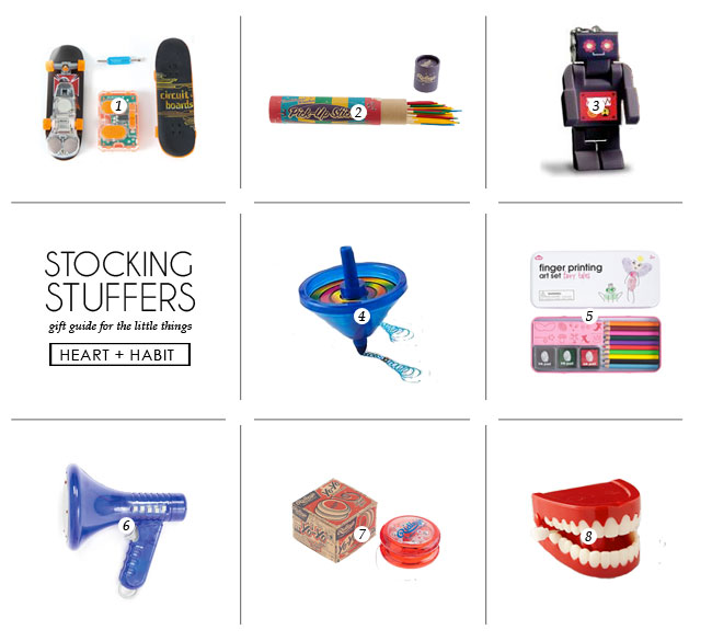 STOCKING STUFFERS | 2014 gift guide