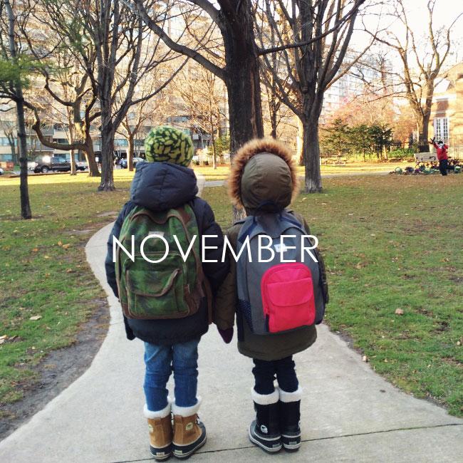 NOVEMBER #samespotcalendar