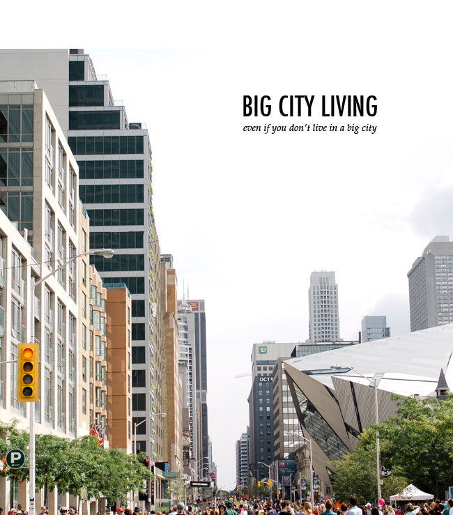 Big City Living with Kids