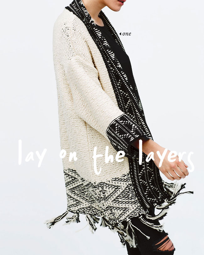 lay on the layers