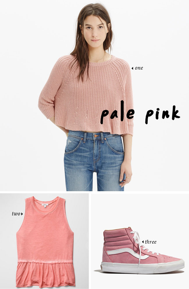 Spring Trends That Won't Feel Trendy | pale pink