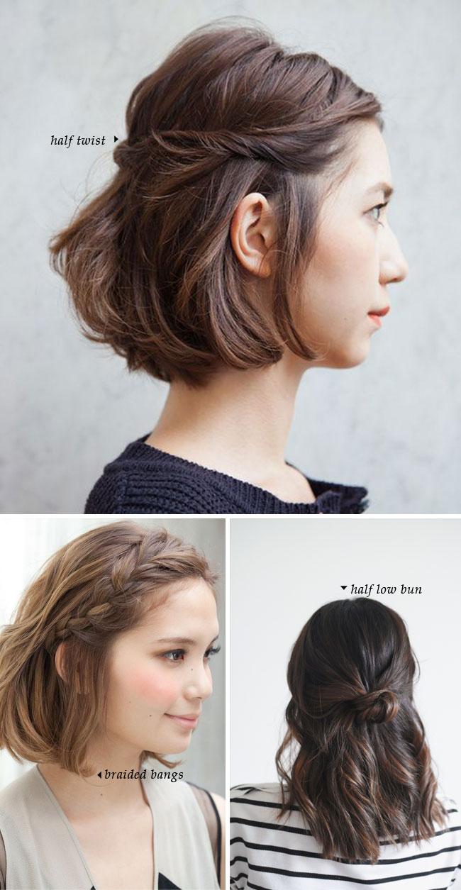 easy short hair styles