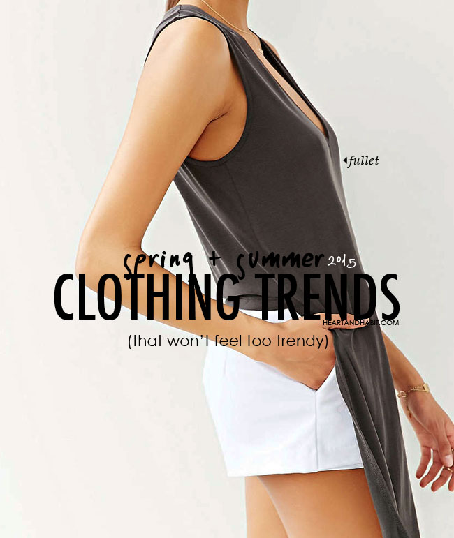 spring and summer clothing trends