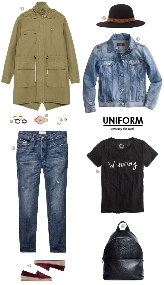 uniform / someday this week
