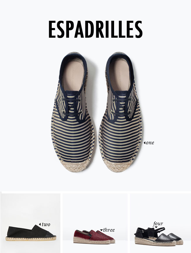 spring summer shoe trends | espardilles