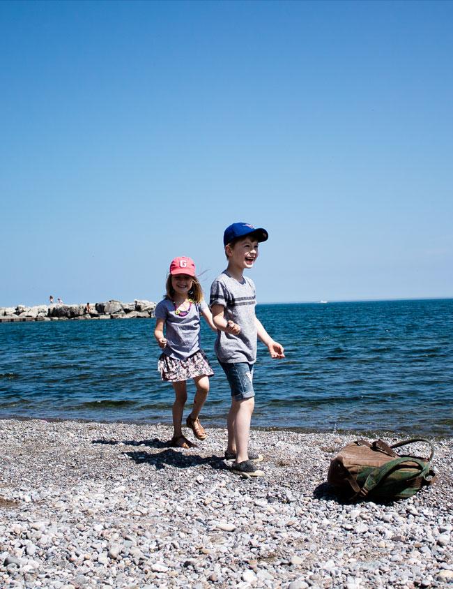 beach side fun