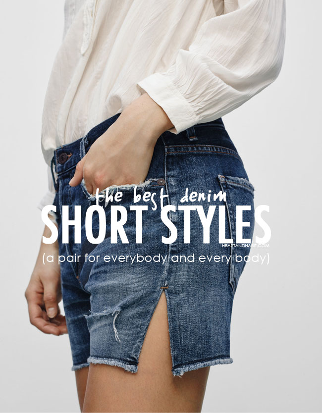 the best denim short style for every body