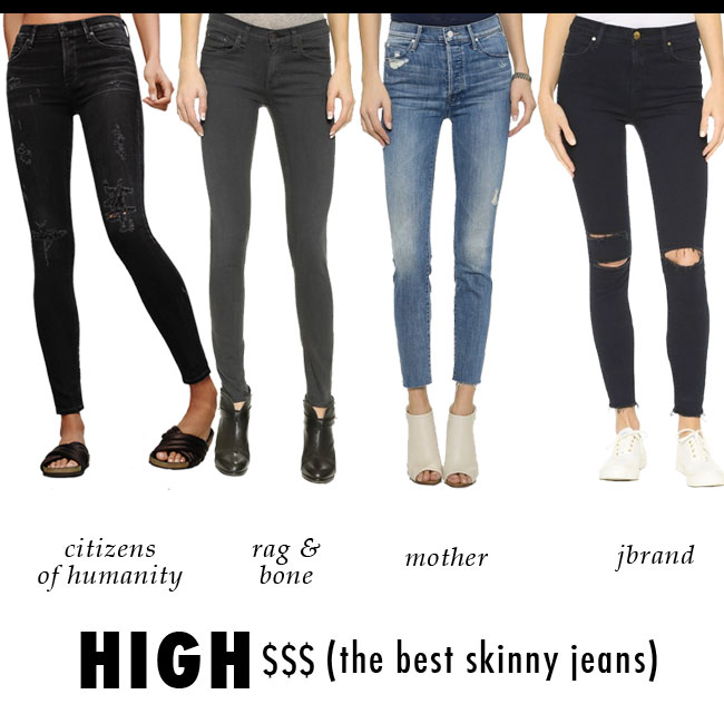 The Best (high priced) Skinny Jeans