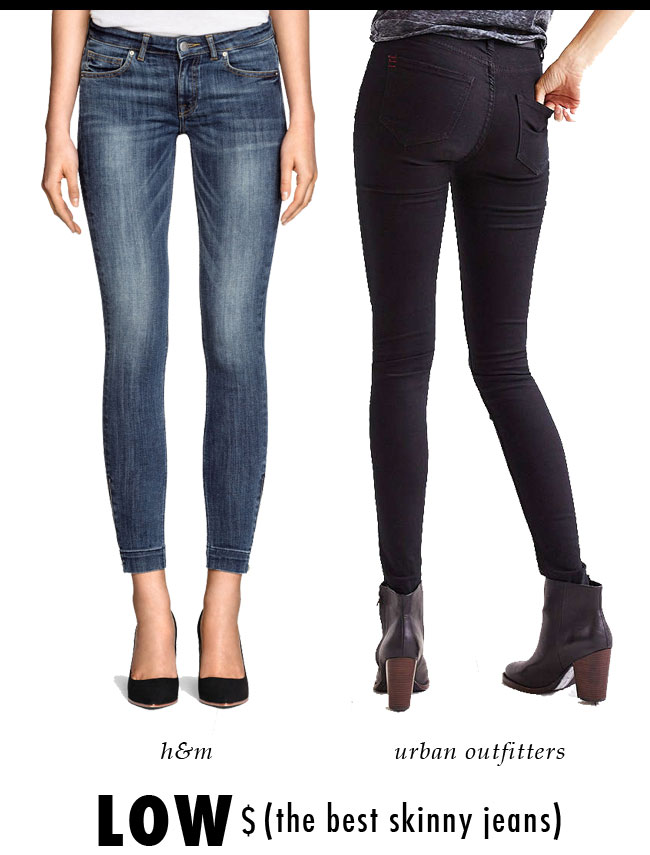 The Best (low priced) Skinny Jeans